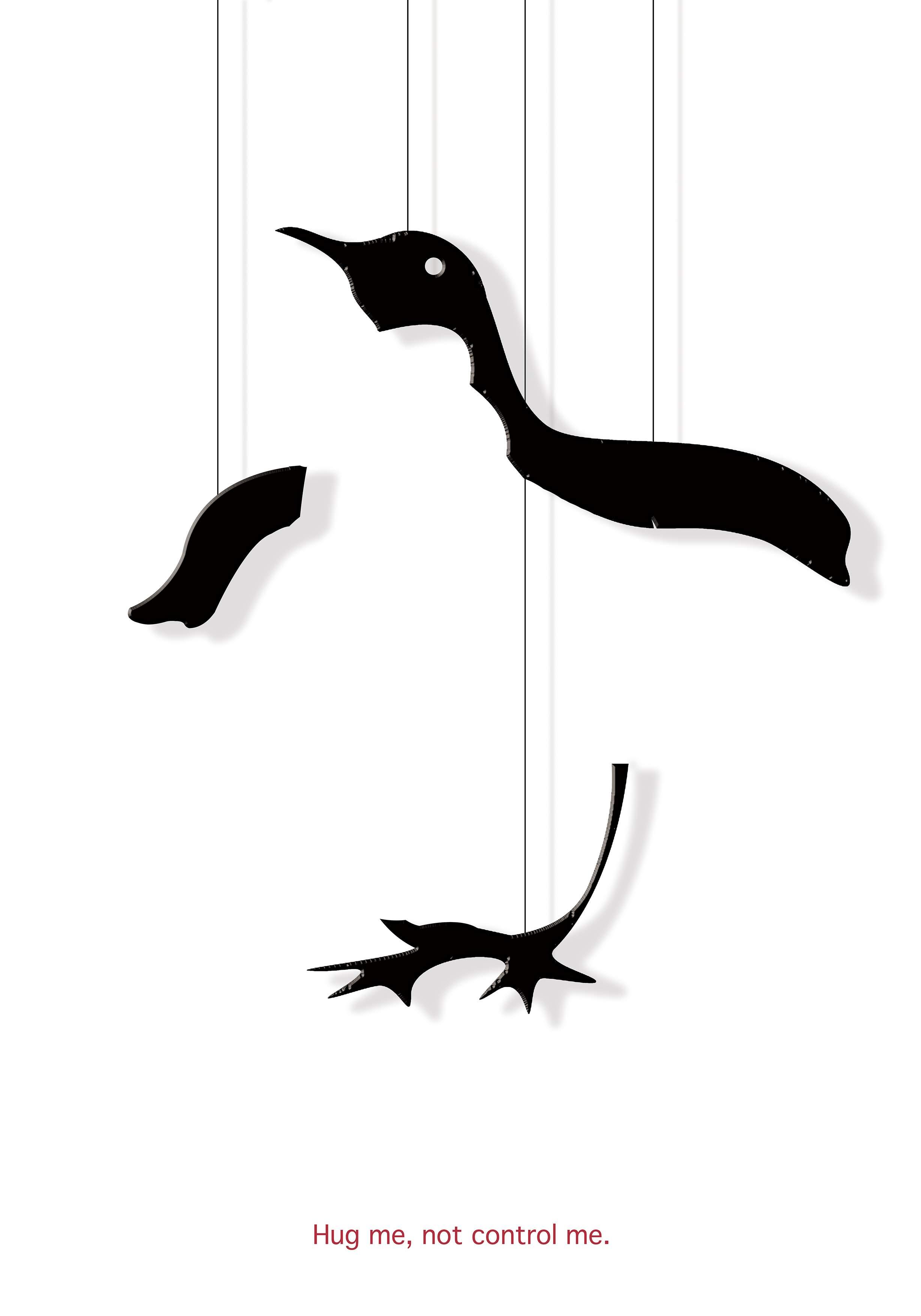动物为例,并拟通过木偶戏的形式来表现对这种现状的